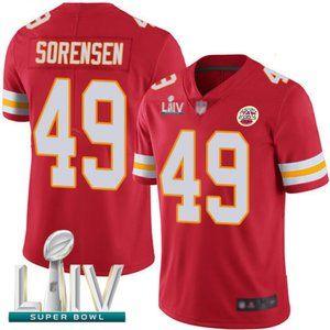 Youth Chiefs Daniel Sorensen Super Bowl LIV Jersey